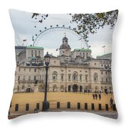 The Household Cavalry Museum London Throw Pillow
