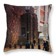 The Household Cavalry Museum London 7 Throw Pillow