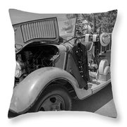 The Howe Throw Pillow