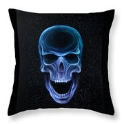 The Howling Void Throw Pillow