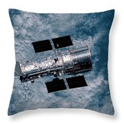 The Hubble Space Telescope Throw Pillow
