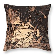 The Human Condition Throw Pillow
