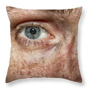 The Human Eye Throw Pillow