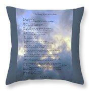 The Human Plateau Throw Pillow