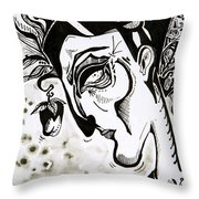 The Human Seasons Throw Pillow