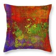 The Human Spirit Throw Pillow by Angela L Walker