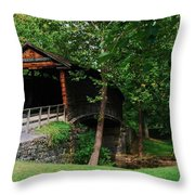 The Humpback Bridge Throw Pillow