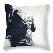 The Hunchback Of Notre Dame Throw Pillow