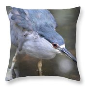 The Hunt Is On Throw Pillow