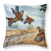 The Hunt  Sold Throw Pillow