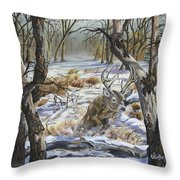 The Hunted Throw Pillow