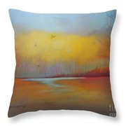 The Hunters Throw Pillow