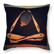 The Hurting Throw Pillow