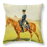 The Hussar Throw Pillow
