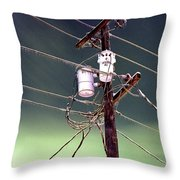 The Ice Storm 1 Throw Pillow