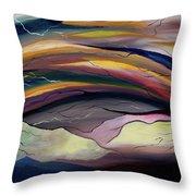 The Illusion Of Time Throw Pillow