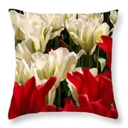 The Image Of A Tulip Throw Pillow
