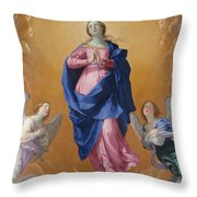 The Immaculate Conceptio Throw Pillow