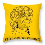 The Imp Throw Pillow