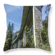 The Imperial Highway On The Forest Moon Of Endor Throw Pillow