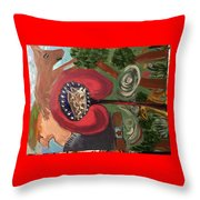 The Indigenous Emerging  Throw Pillow