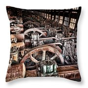 The Industrial Age Throw Pillow