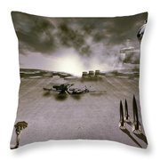 The Industrial Revolution Throw Pillow