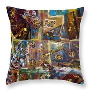 The Infinite Passion Of Life Throw Pillow