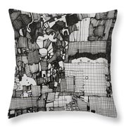 The Information Throw Pillow