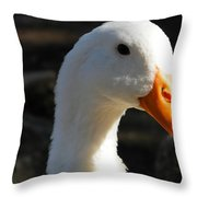 The Injured Duck Throw Pillow