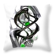 The Inkwell Abstract Throw Pillow