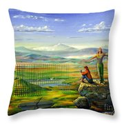 The Inner Freedom Throw Pillow