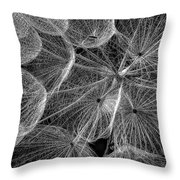 The Inner Weed 2 Monochrome Throw Pillow