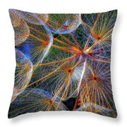 The Inner Weed 2 Oil Throw Pillow