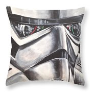 The Innocent Bystander Throw Pillow