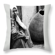 The Innocent Throw Pillow