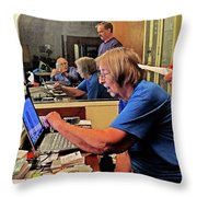 The Internet Search Throw Pillow