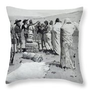 The Interpreter Waved At The Youth Throw Pillow