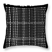 The Intertypes - Spaces Between Letters  Throw Pillow