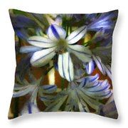 The Intransigent Beauty Of Blue Throw Pillow