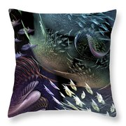 The Intricacy Of Existence Throw Pillow
