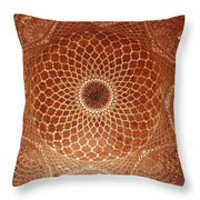 The Intricate Inlay And Carving Throw Pillow