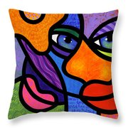 The Introduction Throw Pillow by Steven Scott