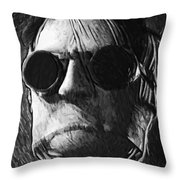 The Invisible Man Throw Pillow