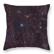 The Iris Nebula In Cepheus Throw Pillow by John Davis