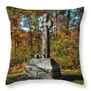 The Irish Brigade Throw Pillow
