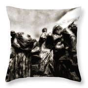 The Irish Exodus Throw Pillow