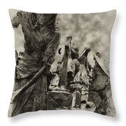 The Irish Famine Throw Pillow