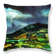 The Irish Hills Throw Pillow