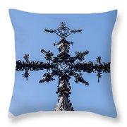 The Iron Cross Of Santa Cruz Throw Pillow